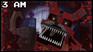 Minecraft FNAF - Nightmare Foxy | 3 AM (FNAF Minecraft Roleplay)