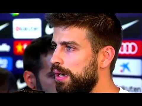 Barcelona's Gerard Pique booed in Madrid after voting in referendum
