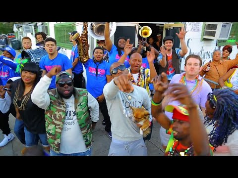 New Video of the day: @5thWardWeebie x #NuBreedBrassBand x @TromboneShorty...#HappyMardiGras