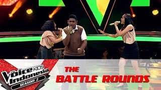 "Video Keisha Palar & Glory & Christoper ""Rather Be"" | Battle Rounds | The Voice Kids Indonesia S2 GTV2017 MP3, 3GP, MP4, WEBM, AVI, FLV Februari 2018"