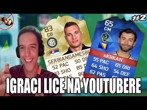 IGRACI KOJI LICE NA BALKANSKE YOUTUBERE #2   FIFA 16