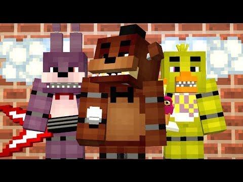 Пять НОЧЕЙ с ФРЕДДИ в МАЙНКРАФТ - Minecraft МИШКА ФРЕДДИ (Обзор Карты)