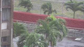 I shot this footage at 1345 AST (Dominica time) in Roseau, Dominica today, Wednesday, September 28, 2016 as Tropical Storm Matthew passed. I will post more a...