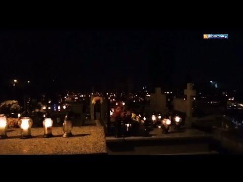 Dzień Wszystkich Świętych. (Cmentarz Parafialny Włoszczowa 2020)