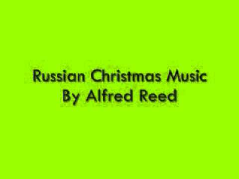 Christmasmusic - Russian Christmas Music By Alfred Reed Performed by the Tokyo Kosei Wind Orchestra.