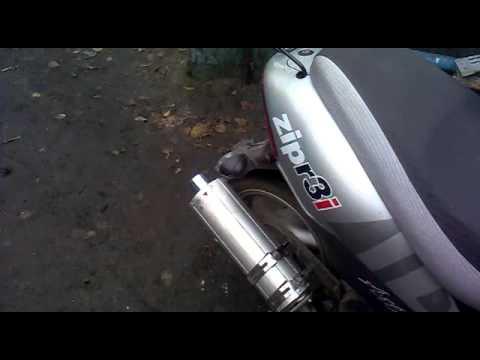 Насадка на глушитель скутера своими руками