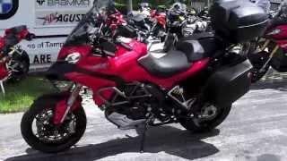 7. Pre-Owned 2014 Ducati Multistrada 1200S Granturismo at Euro Cycles of Tampa Bay