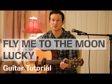 Video Fly Me to the Moon/Lucky Mashup - Rick Hale feat. Breea Guttery -- Guitar Tutorial download in MP3, 3GP, MP4, WEBM, AVI, FLV January 2017