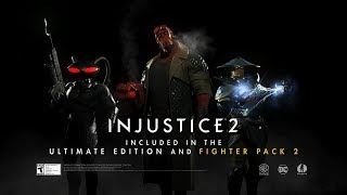 VIDEO: INJUSTICE 2 – Fighter Pack 2 Trailer. Black Manta, Raiden and Hellboy