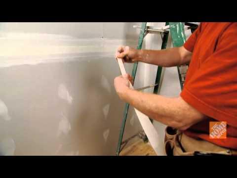 Cómo encintar y tapar un muro en seco