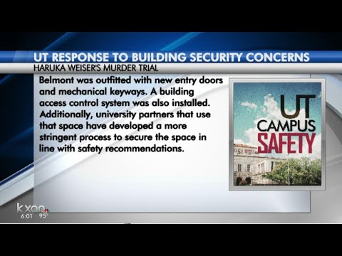 UT responds to security concerns raised in Criner trial