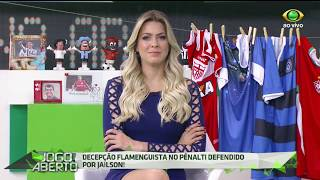 Torcedores do mengão queriam registrar o gol do Diego, mas Jaílson não permitiu.
