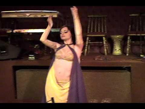 Danza de los 7 velos, baile arabe egipcio tradicional - Odalisca argentina Shadia
