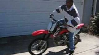3. 2004 Honda CRF Good Condition 150F Dirtbike For Sale Panama City Florida