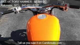 7. 2005 VICTORY HAMMER HAMMER CRUISER - for sale in Murrells In