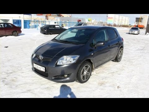 2008 Toyota Auris. Start Up, Engine, and In Depth Tour.