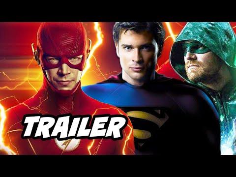 The Flash Season 6 Episode 4 Trailer Crossover Scene and Arrow Breakdown
