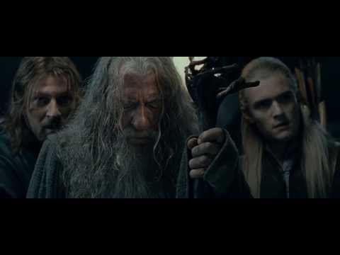Lord of the Rings - Gandalf vs Balrog [Entire Battle HD 1080p]