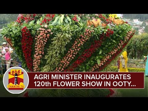 Agriculture-Minister-R-Duraikannu-inaugurates-120th-Flower-Show-at-Ooty-Botanical-Garden