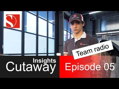 sauber - Welcome to episode 5 of our Cutaway Insights series! In each of these 15 'shorties', we will pick one particular car part or subject and Chief Designer Matt ...