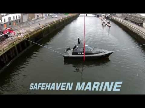 VIDEO: Safehaven Marine capsizes Barracuda stealth boat