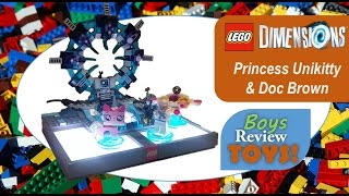 Gamestop ran on a sale on Lego Dimensions character fun packs and we decided to load up.  Check out our unboxing & gameplay of Princess Unikitty & Doc Brown.