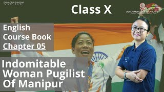 Class X English Chapter 5: Indomitable Woman Pugilist of Manipur