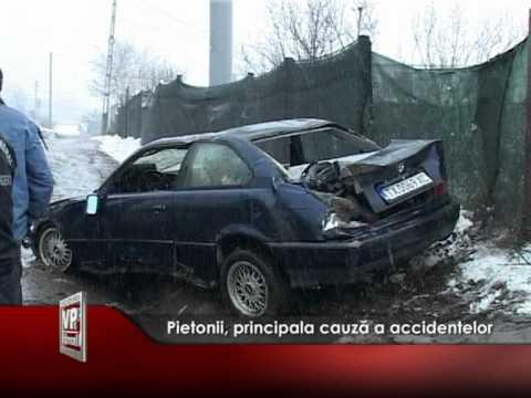 Pietonii, principala cauză a accidentelor rutiere