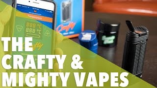 The Crafty & Mighty Vape Review by 420 Science Club