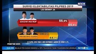 Video Hasil Survei Denny JA, Jokowi-Ma'ruf Unggul Telak atas Prabowo Sandi MP3, 3GP, MP4, WEBM, AVI, FLV April 2019