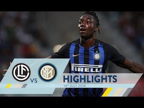 LUGANO-INTER 0-3 | Highlights | 110 Summer Cup (видео)