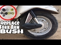Replace Fork Arm Bush || Honda Activa || Must Watch