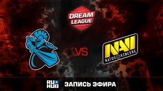 NewBee vs Natus Vincere, DreamLeague Season 8, game 1 [v1lat, Faker]