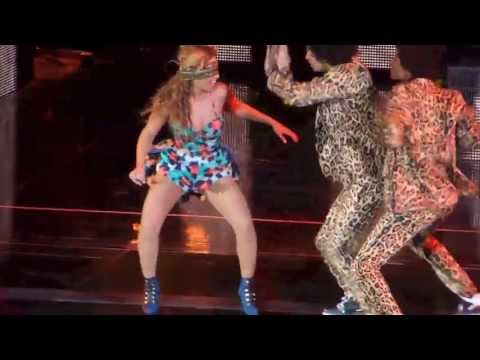 beyonce - Beyonce sings Grown woman during her Mrs Carter Show World tour in Dublin at the O2 arena on saturday may 11th 2013. Watch in HD.