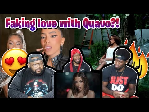 Anitta - Faking Love (feat. Saweetie) [Official Music Video] REACTION!!