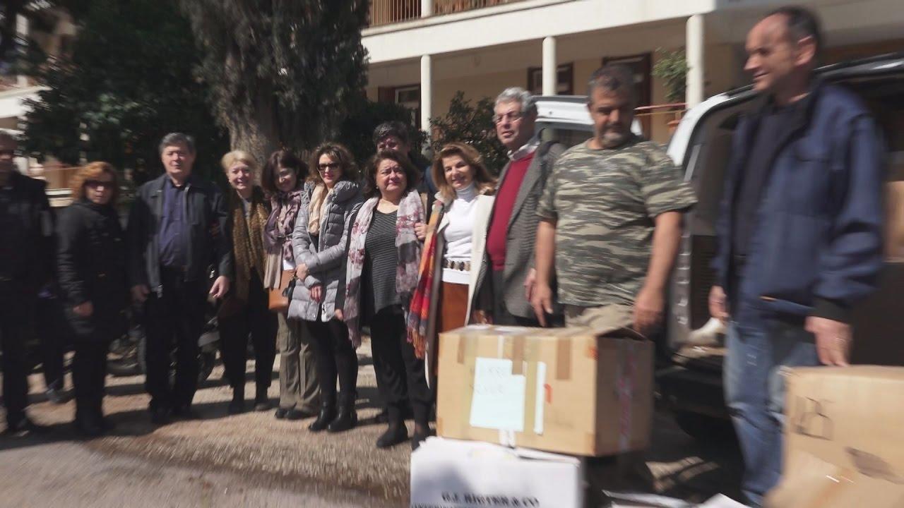 Η Περιφέρεια Αττικής στο Γηροκομείο Αθηνών