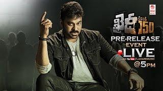 Khaidi No 150 Pre-Release Function LIVE || Mega Star Chiranjeevi || Kajal Aggarwal || V V Vinayak full download video download mp3 download music download