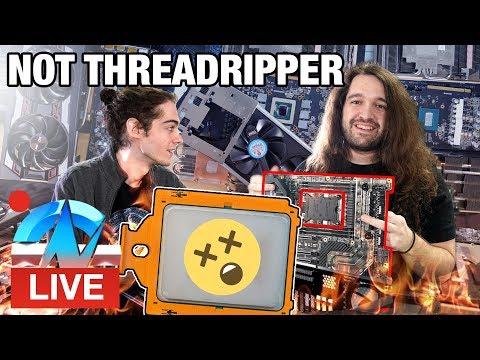Live: Fan Mail & First Dead 2080 Ti at GN HQ видео
