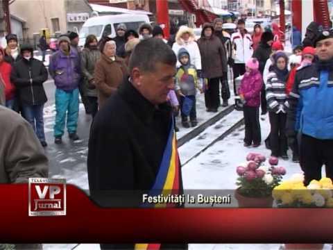 Festivități la Bușteni