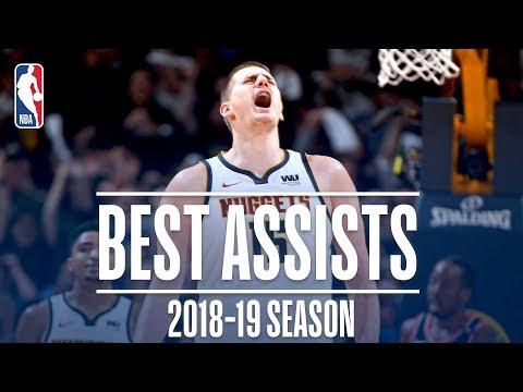 Video: Nikola Jokic's Best Assists | 2018-19 Season | #NBAAssistWeek