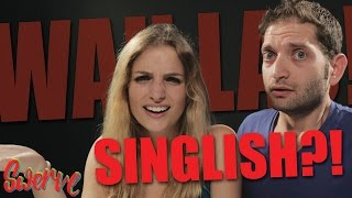 Video Foreigners try and speak Singlish! MP3, 3GP, MP4, WEBM, AVI, FLV Agustus 2018