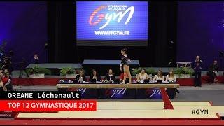 Sous le maillot de l'EGRouen, son club de gymnastique, Oréane a participé au Top 12 qui a eu lieu à Valenciennes, le 12 mars 2017. C'était sa première grande compétition après les JO de Rio… A l'issue des épreuves, son équipe, composée de Sheyen Petit, Anne Kuhm, Jade Gillet, Naïs Gillet et de Jade Dole Plé, est arrivée 6e ! Oréane, à elle seule, a ramené 49.932 points :• Barres asymétriques : 11. 233 pts  • Poutre : 12.500 pts• Sol : 12.600 pts• Saut : 13.466 ptsPour retrouver Oréane, abonnez-vous ! Facebook : https://www.facebook.com/OreaneGym/Insta : https://www.instagram.com/oreane_simba/Site : http://gymsport.fr/