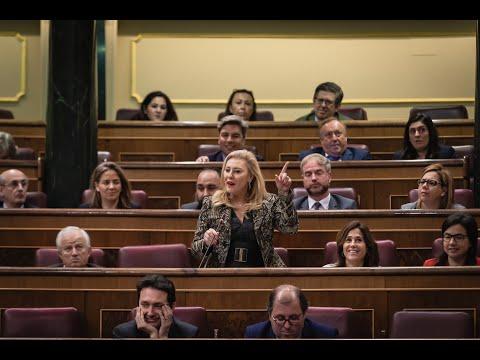 Intervención de Carolina España en la Sesión de Control al Gobierno.