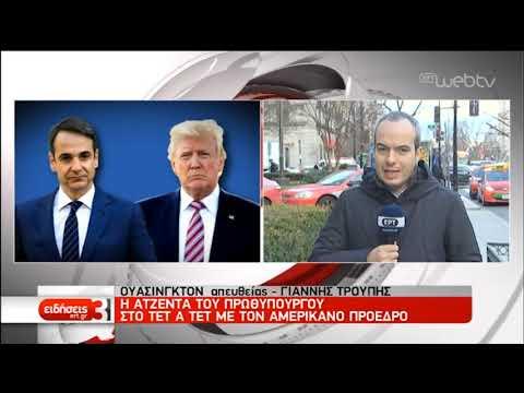 Σήμερα η συνάντηση Μητσοτάκη-Τραμπ | 07/01/2020 | ΕΡΤ