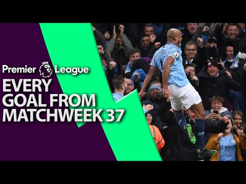 Every goal from Premier League Matchweek 37 | NBC Sports