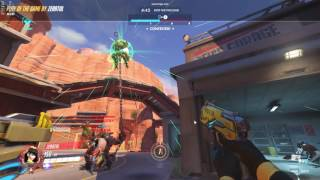 Overwatch - FAIL of the game. Roadhog pulls a D.Va Ulti