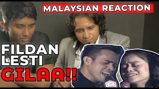 Video Malaysian Reaction on DA Asia 3: Fildan DA4 dan Lesti - Gerimis Melanda Hati (Konser Kemenangan) MP3, 3GP, MP4, WEBM, AVI, FLV April 2019