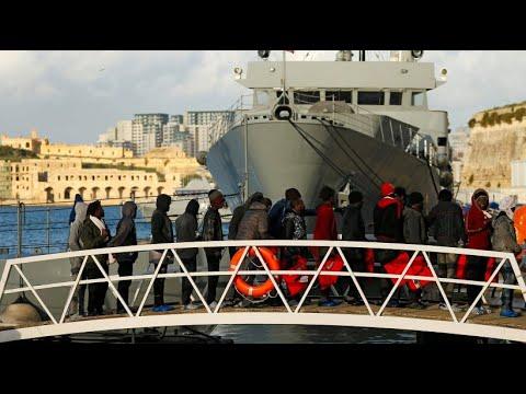 Malta: Flüchtlinge auf der deutschen Sea Watch dürfen an Land