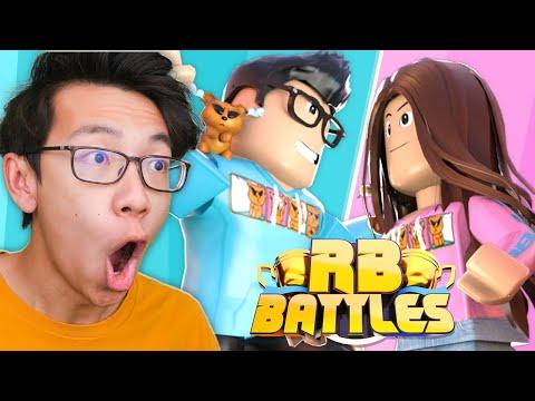 HYPER Vs CARI Roblox Battles LIVE REACTION!