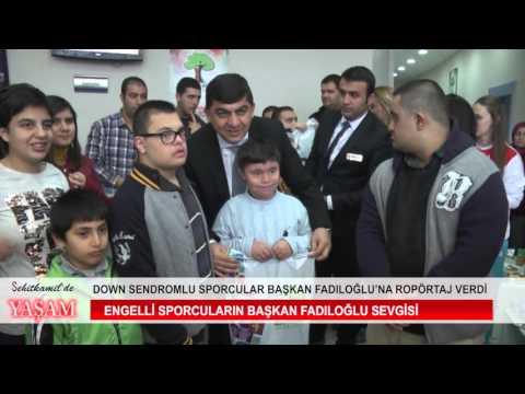 Başkan Fadıloğlu'na röpörtaj verdiler
